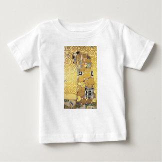 Gustav Klimt - The Hug - Classic Artwork Baby T-Shirt
