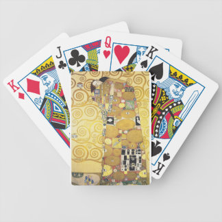 Gustav Klimt - The Hug - Classic Artwork Bicycle Playing Cards