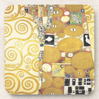 Gustav Klimt - The Hug - Classic Artwork Coaster
