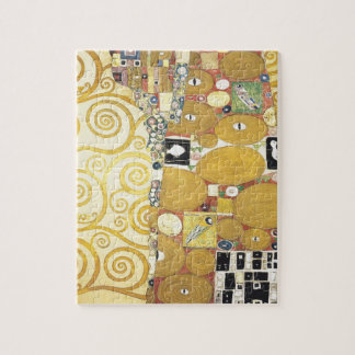 Gustav Klimt - The Hug - Classic Artwork Jigsaw Puzzle