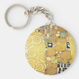 Gustav Klimt - The Hug - Classic Artwork Keychain