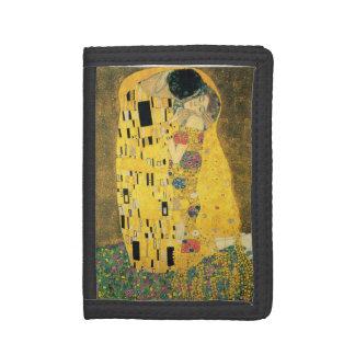 GUSTAV KLIMT - The kiss 1907 Tri-fold Wallets