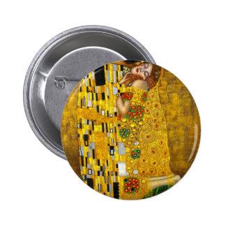 Gustav Klimt The Kiss 2 Inch Round Button