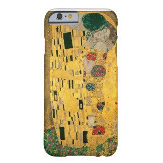 Gustav Klimt The Kiss Art Nouveau Jugendstil Gold Barely There iPhone 6 Case