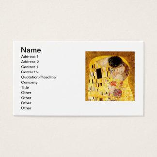 Gustav Klimt The Kiss Business Card
