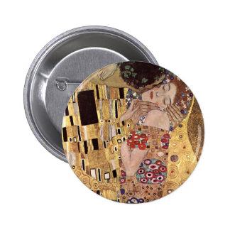Gustav Klimt ~ the Kiss 2 Inch Round Button
