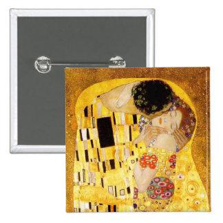 Gustav Klimt The Kiss Pinback Buttons