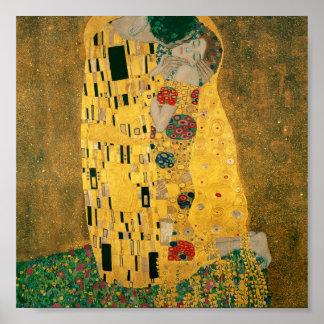 Gustav Klimt // The Kiss // Der Kuss Poster
