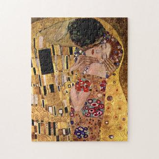 Gustav Klimt: The Kiss (Detail) Jigsaw Puzzle