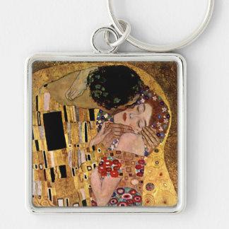 Gustav Klimt: The Kiss (Detail) Keychain
