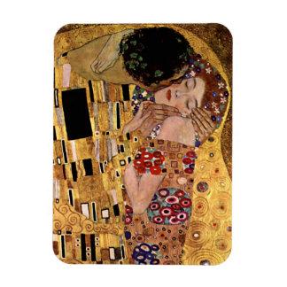 Gustav Klimt: The Kiss (Detail) Rectangular Photo Magnet