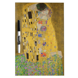 """Gustav Klimt """"The Kiss"""" Dry-Erase Whiteboard"""