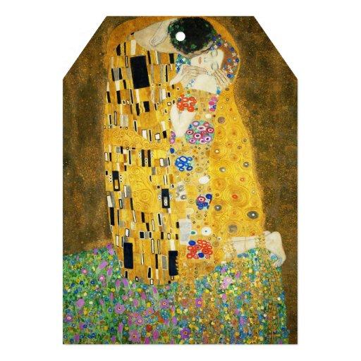 Gustav Klimt The Kiss Invite