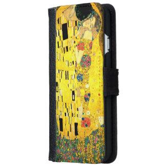 Gustav Klimt -The Kiss iPhone 6 Wallet Case