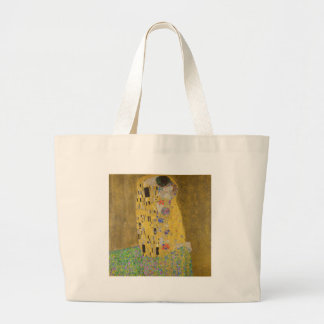 "Gustav Klimt ""The Kiss"" Large Tote Bag"