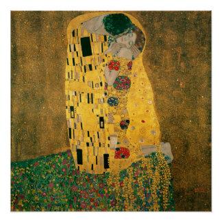 Gustav Klimt The Kiss (Lovers) GalleryHD Perfect Poster