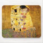 Gustav Klimt The Kiss Mouse Pad