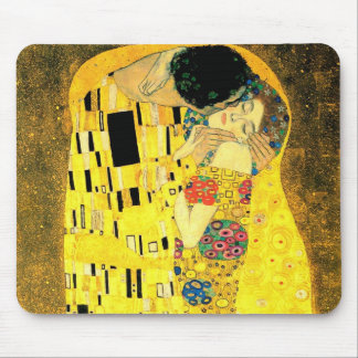 Gustav Klimt -The Kiss  Mousepad
