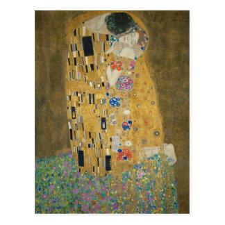 Gustav Klimt - The Kiss Postcard