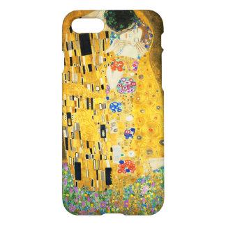 Gustav Klimt The Kiss Vintage Art Nouveau Painting iPhone 8/7 Case