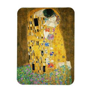 Gustav Klimt The Kiss Vintage Art Nouveau Painting Magnet
