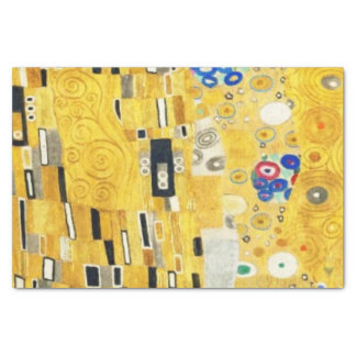 Gustav Klimt The Kiss Vintage Art Nouveau Painting Tissue Paper