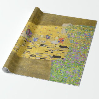 Gustav Klimt The Kiss Wrapping Paper
