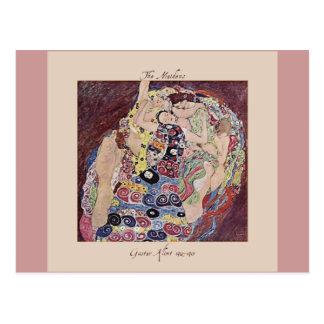 Gustav Klimt The Maidens 1912-1913 Postcard