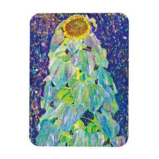 Gustav Klimt - The Sunflower Rectangular Photo Magnet