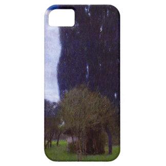 Gustav Klimt The Tall Poplar Trees iPhone 5 Case