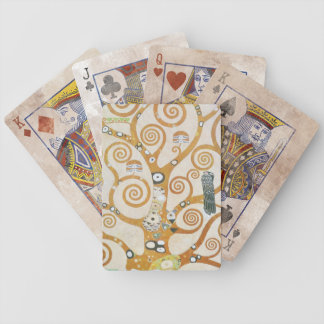 Gustav Klimt The Tree Of Life Art Nouveau Bicycle Playing Cards