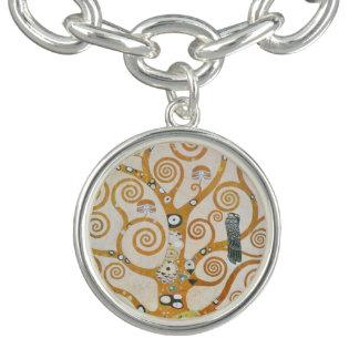 Gustav Klimt The Tree Of Life Art Nouveau Bracelet