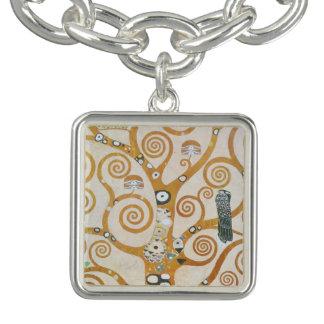 Gustav Klimt The Tree Of Life Art Nouveau Bracelets