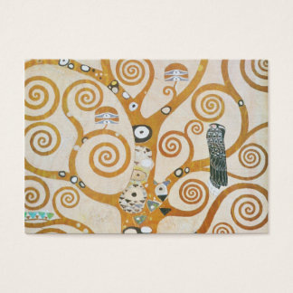 Gustav Klimt The Tree Of Life Art Nouveau Business Card