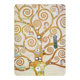 Gustav Klimt The Tree Of Life Art Nouveau Card