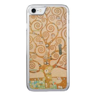 Gustav Klimt The Tree Of Life Art Nouveau Carved iPhone 8/7 Case