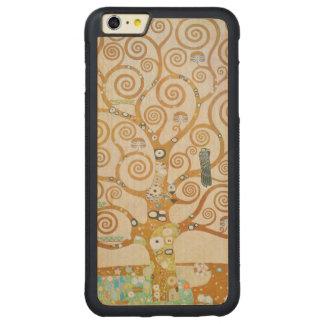 Gustav Klimt The Tree Of Life Art Nouveau Carved Maple iPhone 6 Plus Bumper Case
