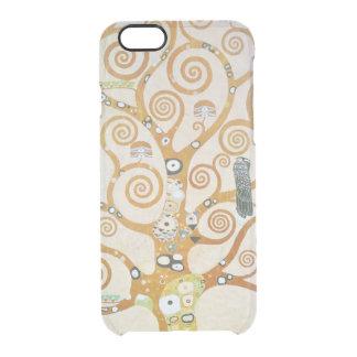 Gustav Klimt The Tree Of Life Art Nouveau Clear iPhone 6/6S Case