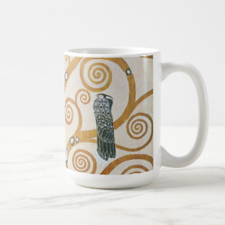 Gustav Klimt The Tree Of Life Art Nouveau Coffee Mug
