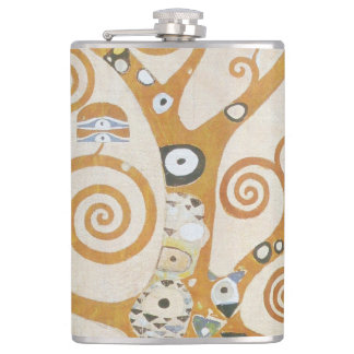 Gustav Klimt The Tree Of Life Art Nouveau Flask