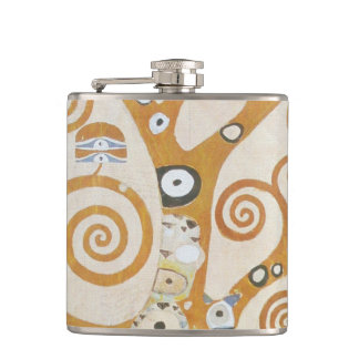 Gustav Klimt The Tree Of Life Art Nouveau Flasks