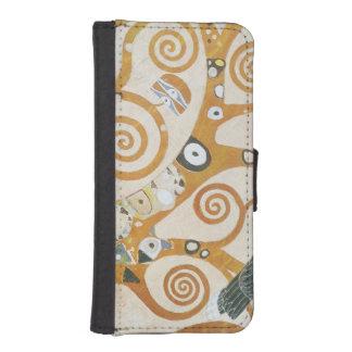 Gustav Klimt The Tree Of Life Art Nouveau iPhone SE/5/5s Wallet Case