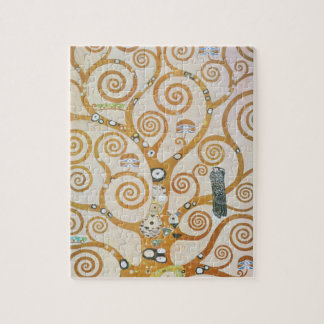 Gustav Klimt The Tree Of Life Art Nouveau Jigsaw Puzzle