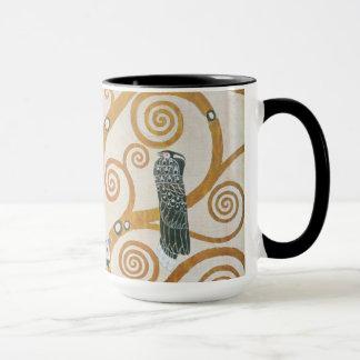 Gustav Klimt The Tree Of Life Art Nouveau Mug
