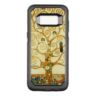 Gustav Klimt The Tree Of Life Vintage Art Nouveau OtterBox Commuter Samsung Galaxy S8 Case