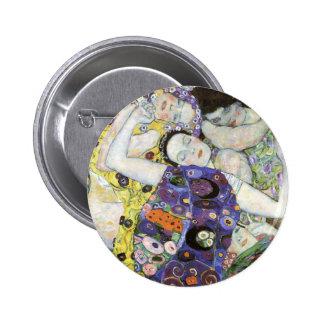 Gustav Klimt ~ The Virgin 2 Inch Round Button