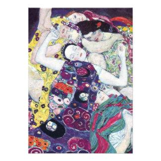 Gustav Klimt The Virgin Invitations
