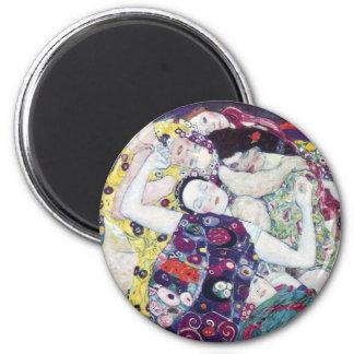 Gustav Klimt The Virgin Magnet