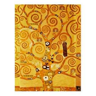 Gustav Klimt Tree of Life Art Nouveau Postcard