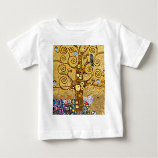 "Gustav Klimt, ""Tree of life"" Baby T-Shirt"